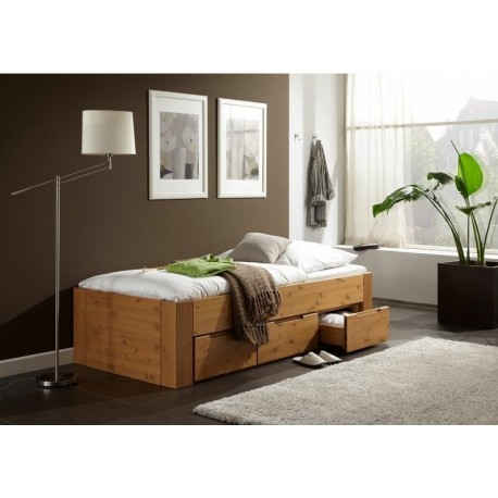 houten Ladebed Jabo Straight 1 persoons