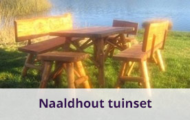 Naaldhout tuinset